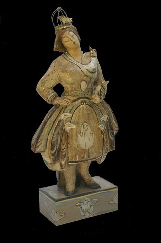 Kooische vrouw, 89 cm