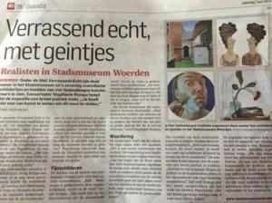 Krant Gouda stadsmuseum Woerden